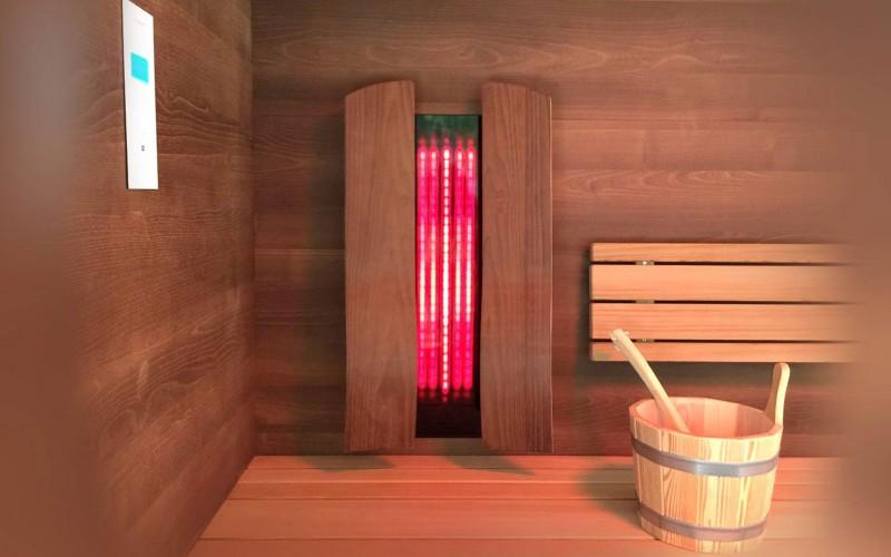 Sauna Im Wohnzimmer   Infrarotkabinen Urbanes Design Wellness Im Wohnzimmer B Intense